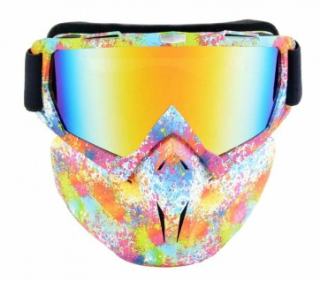 Full-Protection Maske für Ski Motocross Bike Skibrille Gesichtsmaske Atemschutz