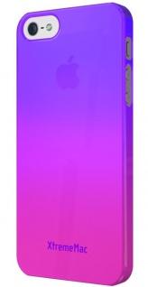 XtremeMac Design Cover Pink Bumper Hülle Hardcase Tasche für Apple iPhone 5S 5