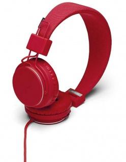 Urbanears Plattan I Headset Tomato Rot On-Ear Kopfhörer Mikrofon + Fernbedienung