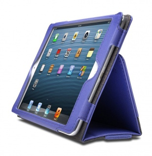 Kensington Soft Folio Case & Stand für Hülle Tasche Apple iPad mini 1 2 3 lila