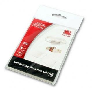 Speedlink Laminierfolien 30x DIN A6 Laminiertaschen Laminierhüllen Visitenkarten
