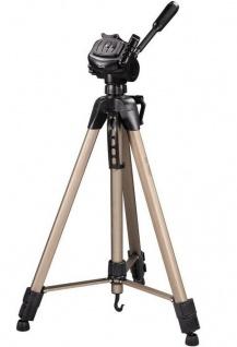 Hama Dreibein-Stativ Star 63 166cm 3D 3-Wege-Kopf Kamera-Stativ Foto-Stativ