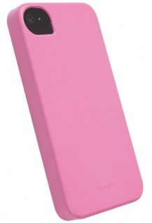 Krusell bio-serie Cover Case Tasche PINK für Apple iPhone 4 4S Hülle Hardcover