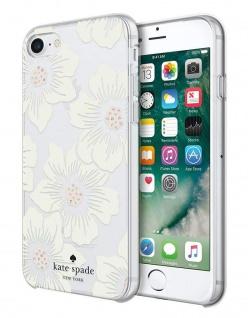 Kate Spade New York Flower Hardshell Cover Case Hülle Bag für Apple iPhone 7 + 8