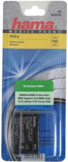 Hama Akku Batterie für Nokia BL-4U C5-03 500 Asha 300 E66 5530 8800 Arte 6600 .. - Vorschau