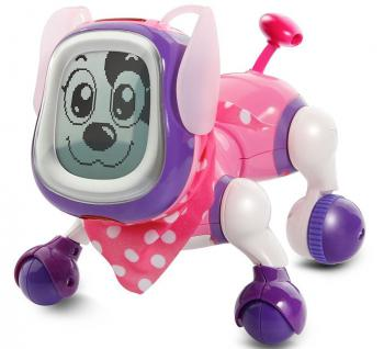 Vtech Kiddy-Doggy Roboter Hund Roboterhund Elektronisches Haustier Fernsteuerung