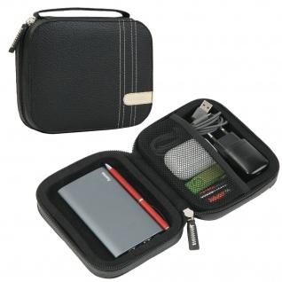 Ausrüstungs-Tasche Hülle Cover für Kopfhörer Power-Bank Akku Handy-Ladegerät etc