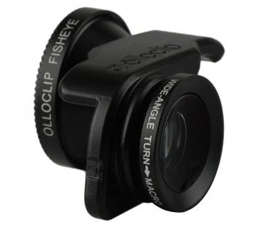 Olloclip 3in1 Kamera-Objektiv Weitwinkel Fischauge Makro für iPhone SE 5SE 5s 5