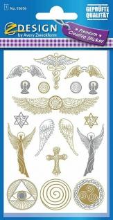 Avery Creative Sticker Aufkleber Schutz-Symbole Geschenk Karten Etiketten Engel
