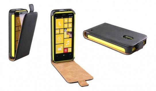 Patona Slim Flip-Cover Klapp-Tasche Schutz-Hülle Cover Case für Nokia Lumia 620