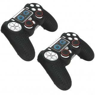 2x PACK Speedlink Silikon Skin Schutz-Hülle Grip Cover für Sony PS4 Controller