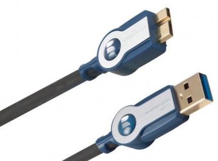Monster HP HQ 2, 1m Micro-USB 3.0 USB-Kabel für Handy Smartphone PC HDD Kamera ..