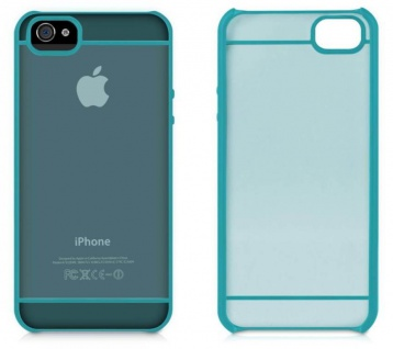 Macally Design Cover Schutz-Hülle Hard-Case Schale Tasche für Apple iPhone SE 5S