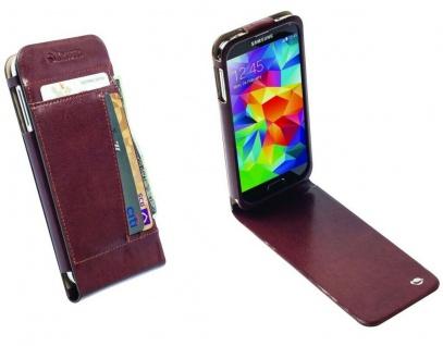 Krusell Folio Tasche Smart Hülle Case Flip-Cover Wallet für Samsung Galaxy S5
