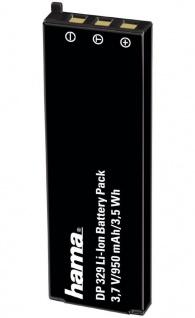Hama Li-Ion Akku Batterie für Casio NP-50 Exilim EX-V7 EX-V7SR EX-V8 EX-V8SR etc