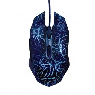 Hama uRage Gaming-Maus Illuminated 3600dpi 6 Tasten Optisch USB-Kabel LED