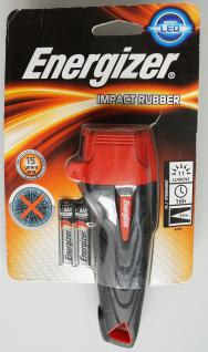 Energizer Taschenlampe Impact Rubber LED 2AAA Flashlight Lampe Leuchte hell - Vorschau