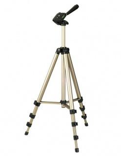 Hama Dreibein-Stativ Star 700EF Digital 3D 3-Wege-Kopf Kamera-Stativ Foto-Stativ