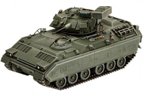 Revell 3143 Bradley M2/M3 Panzer-Bausatz Militär-Fahrzeug Modell-Panzer 145 tlg.
