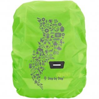 Step-by-Step Regen- und Sicherheitshülle Medium Grün Schul-Ranzen Ruchsack-Hülle