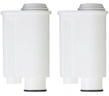 2 Wasserfilter Kaffeevollautomat passend für Gaggia Philips Saeco Brita Intenza+