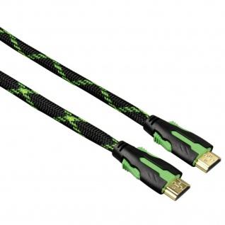Hama High Speed HDMI Kabel 5m Vergoldet 100Mbit/s 4K Full-HD für TV PC Monitor