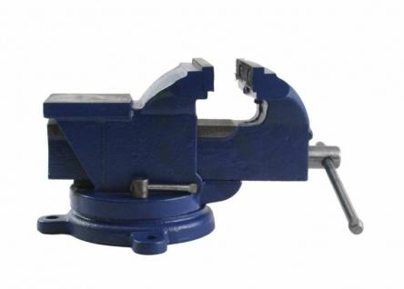 Beast Werkstatt-Schraubstock Werkbank Parallel Drehbar 100 mm 5, 5kg Blau