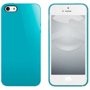 Switch-Easy Cover Back-Case Schutz-Hülle Türkis Schale für Apple iPhone 5 5s SE