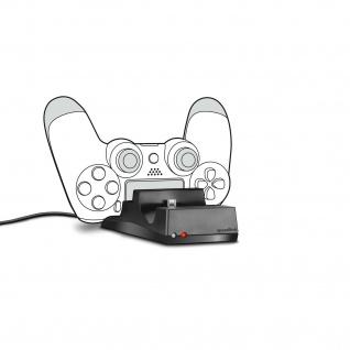 SPEEDLINK JAZZ USB Charger Lade-Station Ladegerät für PS4 Dual Shock Controller