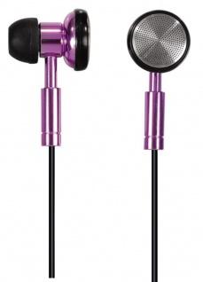 Hama PC-Headset HS-75 Stereo In-Ear Kopfhörer 3, 5mm Klinke Metallic Pink