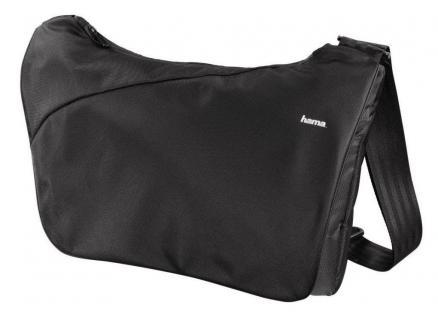 Hama Kamera-Tasche Citytour 160 Textil Foto-Tasche 2 Innentaschen schwarz