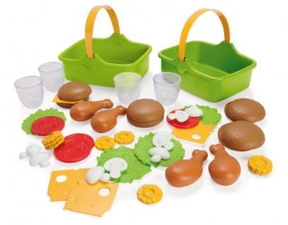 Dantoy 7030 Green Garden Picknick-Set Spielzeug Spiel-Essen Kinder-Küche Plastik