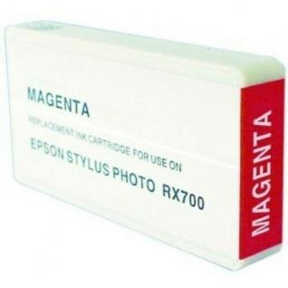 Hama Druckerpatrone analog für Epson RX700 Drucker magenta Farbe Tinte