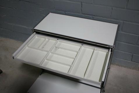 USM Haller Sideboard Druckerport Ablage mit Klappe und Tablar-Auszug Regal - Vorschau 4