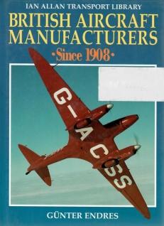 British Aircraft Manufacturers Since 1908 Günter Enders Englisch Flugzeuge