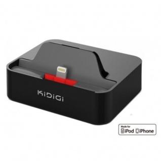 KiDiGi Docking-Station Lade-Schale Sync Ladegerät für Apple iPhone SE 5SE 5s 5