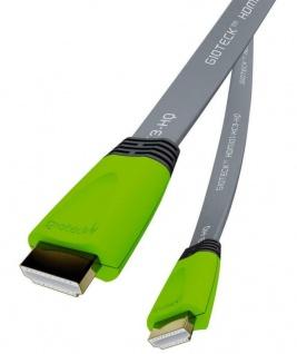 Gioteck HQ HDMI-Kabel Anschluss-Kabel für TV Beamer PC PS4 XBOX ONE 360 Konsole