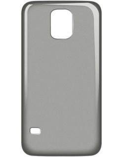 Cellux Handy Cover TPU Back Case Galaxy S5 Schutz-Hülle Tasche transparent black