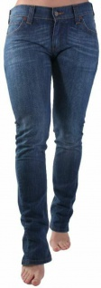 Original Levi's Damen Jeans-hose 603 Skinny Zipp Fly W31 L32 Woman blau