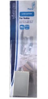 Vivanco Akku für Nokia BLB-2 5210 6510 7650 8210 8250 8310 8850 8890 8910i 8910 - Vorschau