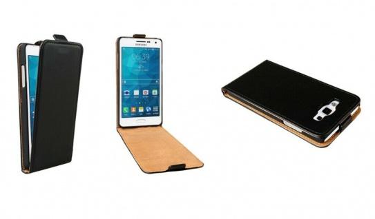 Patona Slim Cover Klapp-Tasche Schutz-Hülle Case für Samsung SM-A500 Galaxy A5