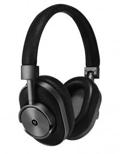 Master & Dynamic MW60 Gun-Metal Wireless Headset Bluetooth Kopfhörer Earphones