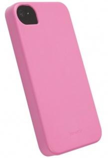 Krusell BIO Cover pink für Apple iPhone 4 4S Bumper Schale Schutz-Hülle Hardcase