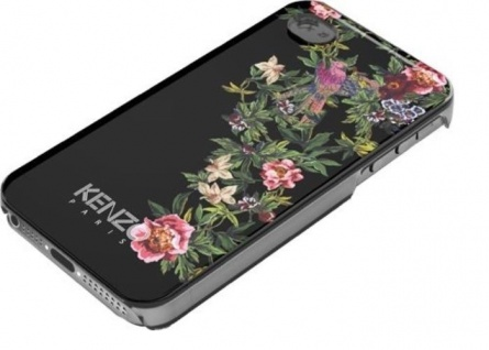 Kenzo Hardcase Exotic Cover Schutz-Hülle Case Bumper für Apple iPhone 5 5s SE