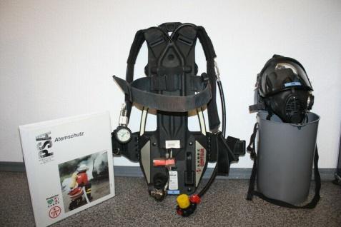 Sabre Lungenautomat + Atemschutz-maske Sauerstoff-maske Staub Rauch Beatmung