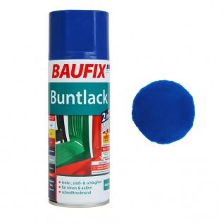 Baufix Lack-Spray Blau Glanz 400ml Sprüh-Dose Spray-Dose Sprüh-Lack Farb-Spray