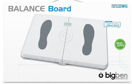 Bigben Balance Board Controller + Waage für Nintendo Wii Wii-U Wii-Fit Spiele