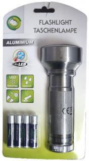LED Taschenlampe Aluminium wasserfest Alu Lampe hell Outdoor Camping Flash Light