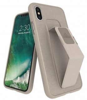 Adidas Grip Case Ständer Hard-Cover Tasche Schutz-Hülle für Apple iPhone X / Xs