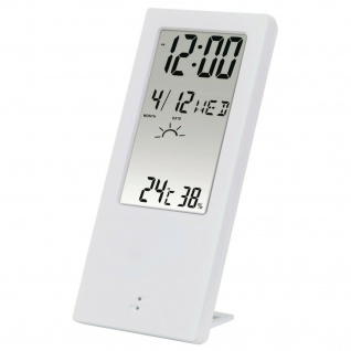 Hama Thermometer Hygrometer TH-140 Wecker Wetter--Station